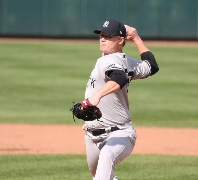Baseball Pitcher, Nick Nelson