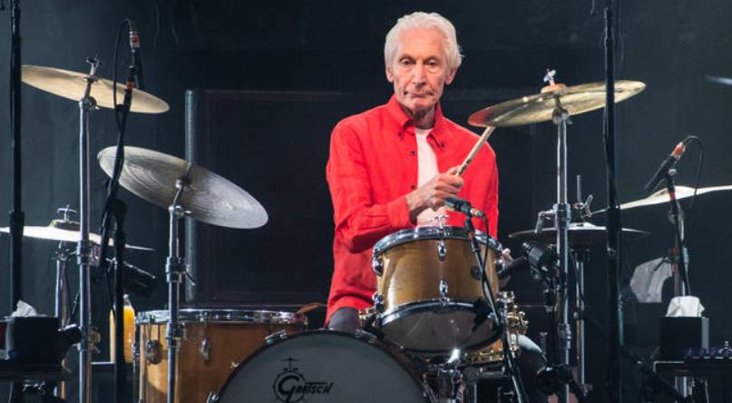 Rolling Stones Drummer, Charlie Watts