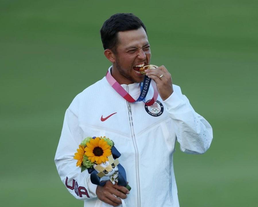 Xander Schauffele Olympics