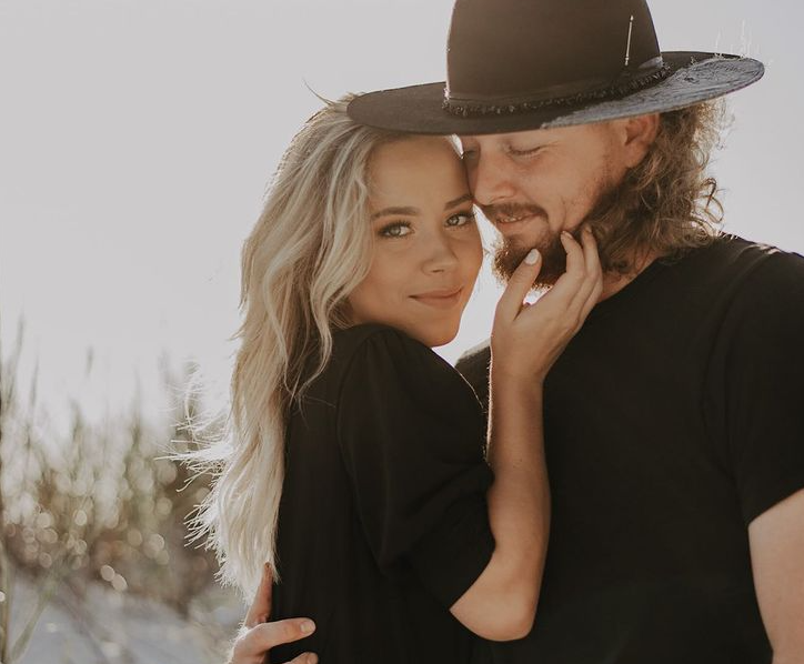 Ryne Stanek and his wife