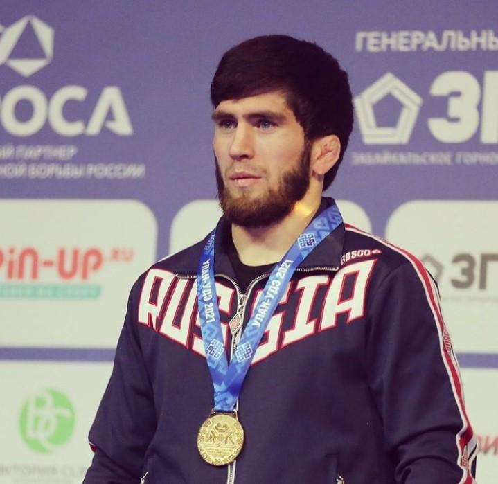 Zaur Uguev Russian Champion