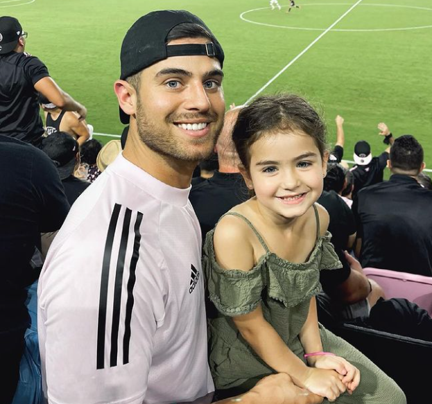Andre Brunelli and his daughter, Kylie