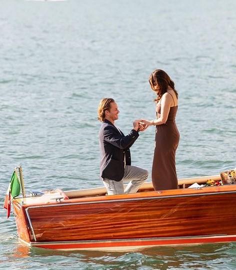 Grant Hughes engaged