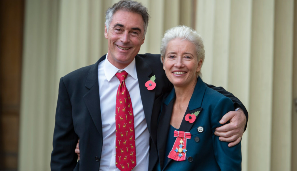 Greg Wise and his wife, Emma Thompson