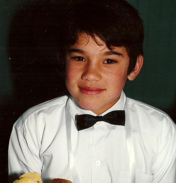 Francis Mossman During His Young Age