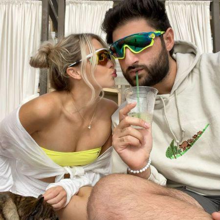 Faze Nikan with his girlfriend, Victoria Bagford.