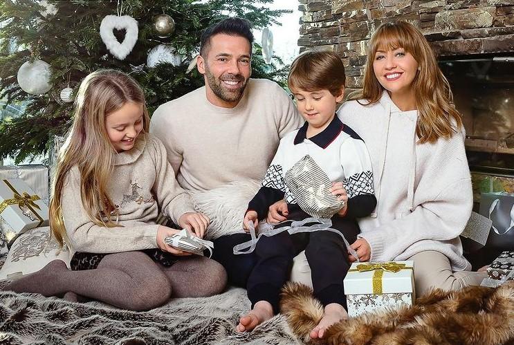 Samia Longchambon family