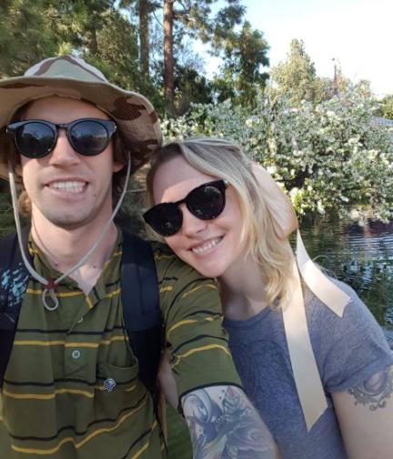 Spencer Elden and his girlfriend