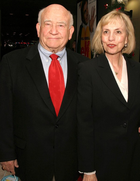 Ed Asner and his ex-wife, Cindy Gilmore