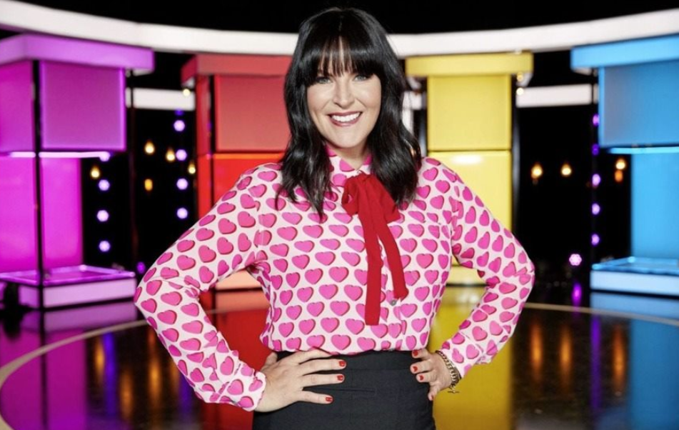 British TV Presenter, Anna Richardson