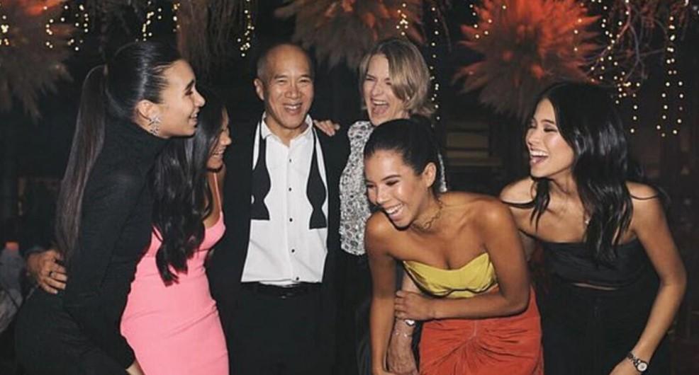 Charlie Teo family