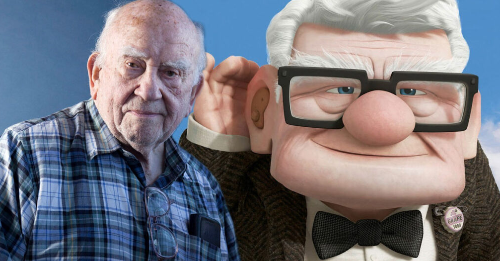 Ed Asner voiced the lead in the Pixar film 'Up'