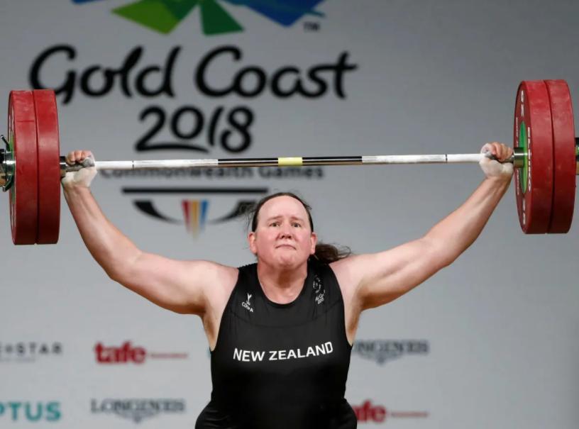 New Zealander Weightlifter, Laurel Hubbard