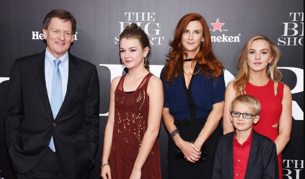Michael Lewis family