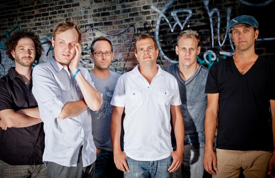 Umphrey's McGee Band Members Brendan Bayliss, Jake Cinninger, Joel Cummins, Andy Farag, Kris Myers and Ryan Stasik