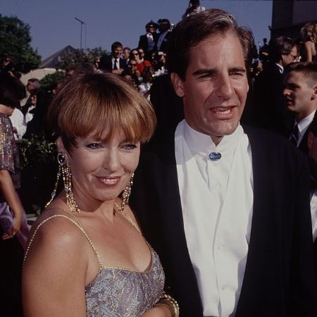 Krista Neumann with her ex-husband Scott while they were young