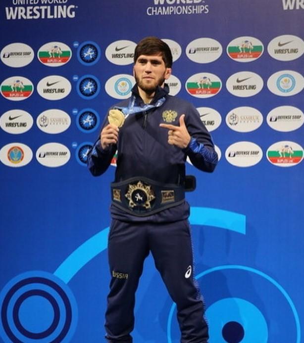 Zaur Uguev world champion