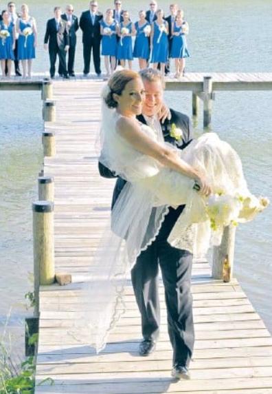 Gregory Mecher and Jen Psaki married in 2010