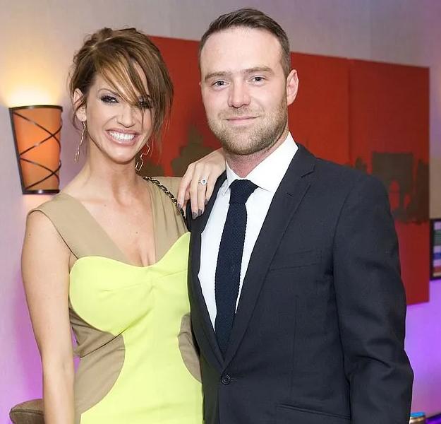 Sarah Harding and her ex-boyfriend, Tom Crane
