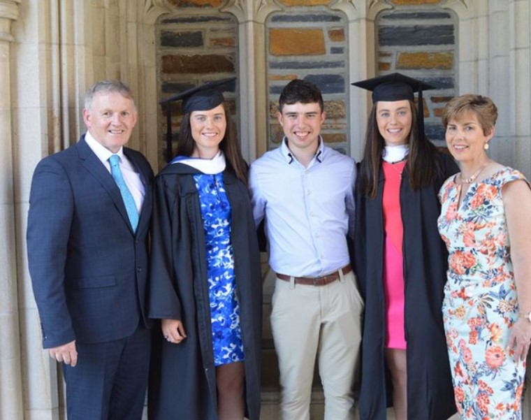 Leona Maguire family