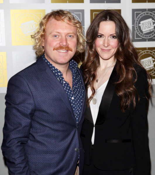 Leigh Francis and his wife, Jill Carter