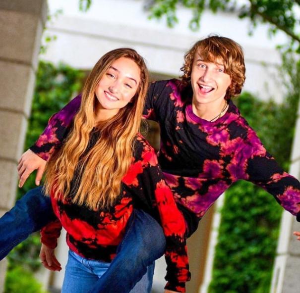 McKenzi Brooke and her brother, Reif Howey