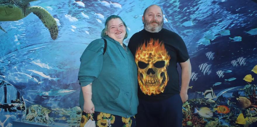 Amy Slaton and husband