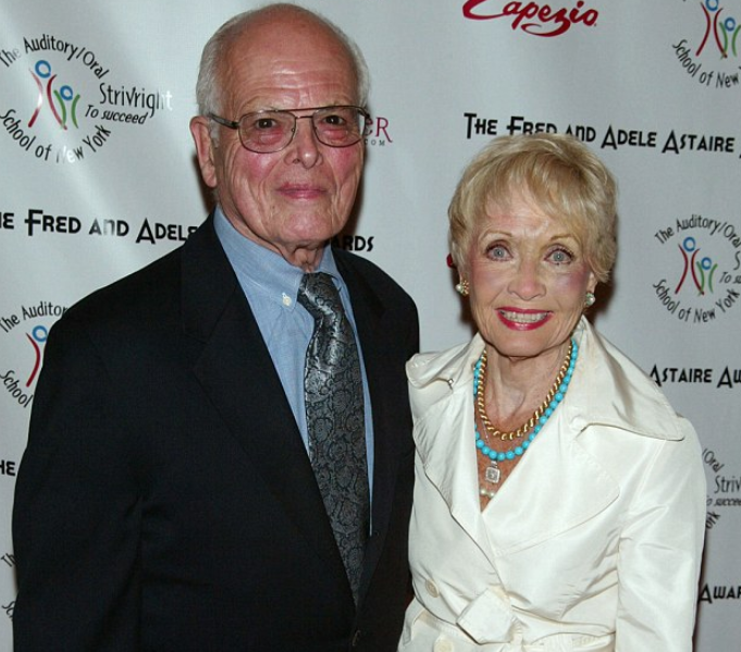 Jane Powell and her fifth husband, Dickie Moore