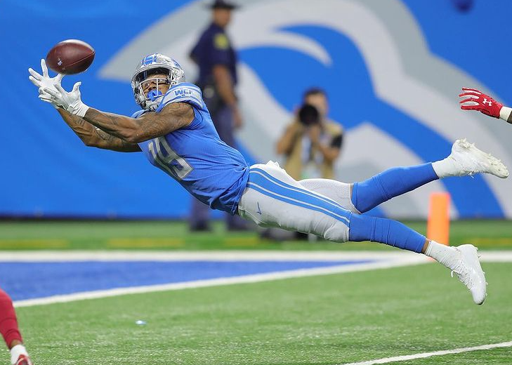 Kenny Golladay, Wide Receiver for the New York Giants