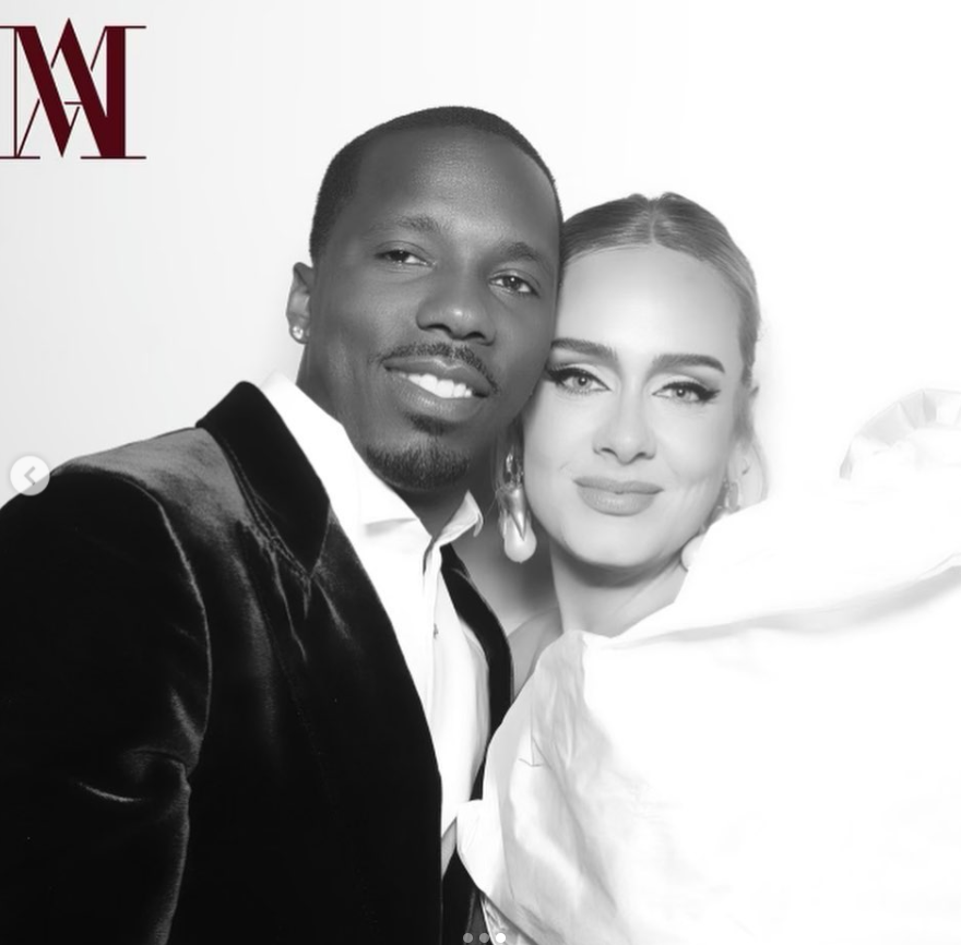 Rich Paul and his new girlfriend, Adele