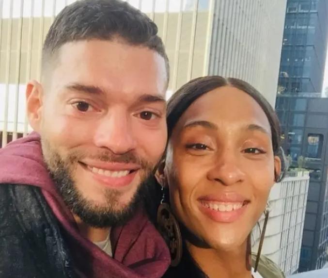Mj Rodriguez and her boyfriend, Stephen Gimigliano