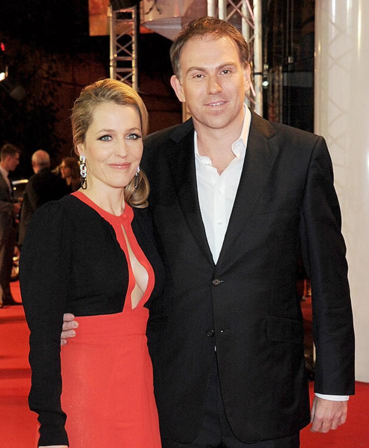 Gillian Anderson's second ex-husband, Julian Ozanne