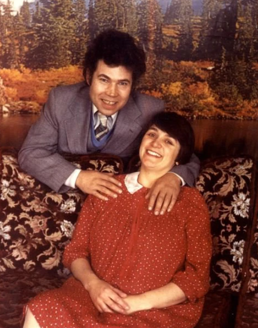 Rose West and her husband, Fred