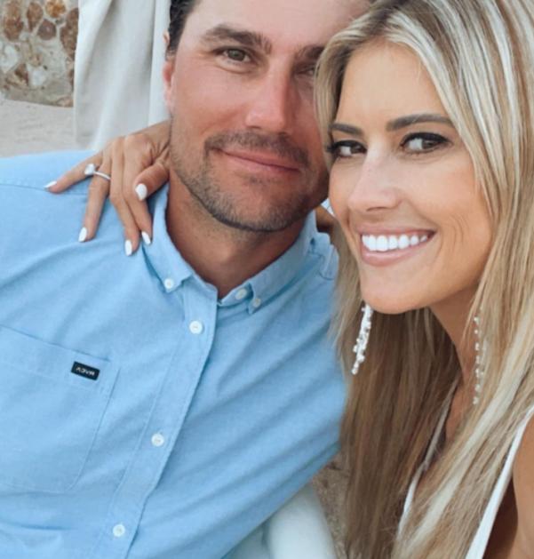 Joshua Hall and his girlfriend, Christina Haack