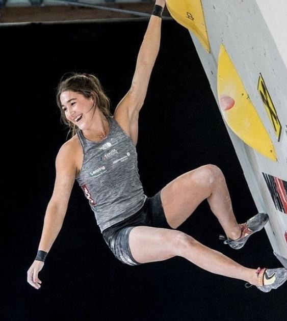 Johanna Farber is a climber from Austria
