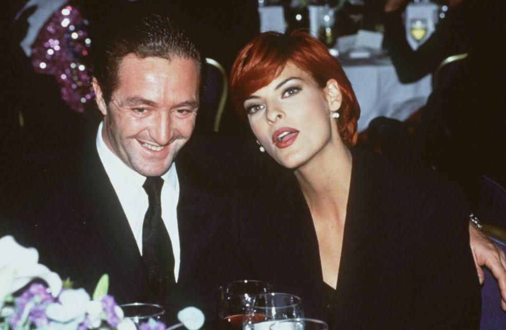 Linda Evangelista and her ex-husband, Gerald Marie