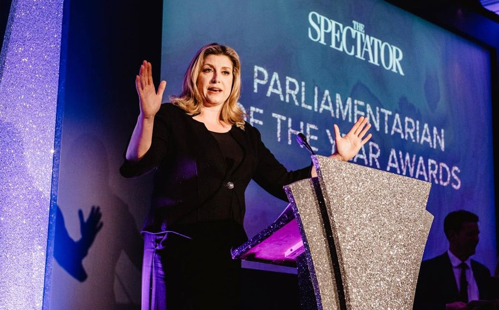 Penny Mordaunt Speeching