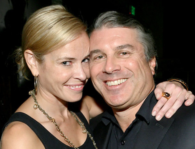 Chelsea Handler and her boyfriend, Ted Harbert
