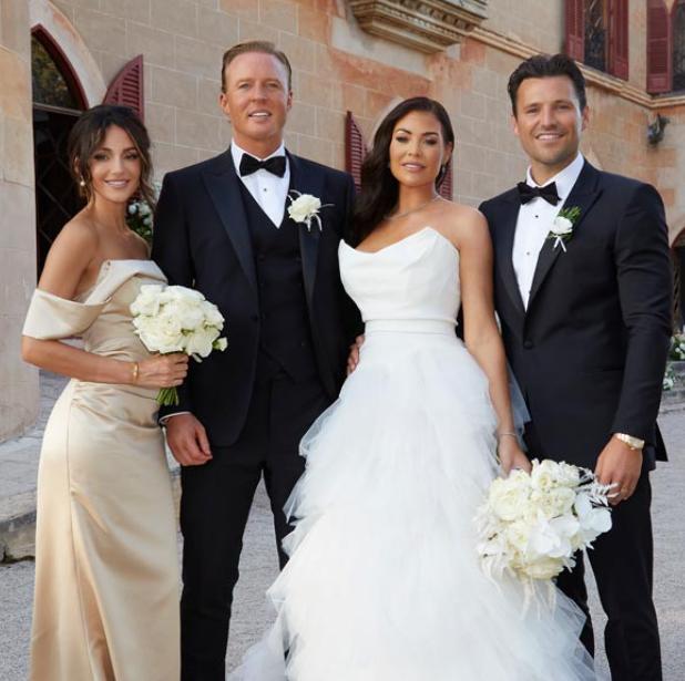 Jessica Wright looks stunning on her wedding dress