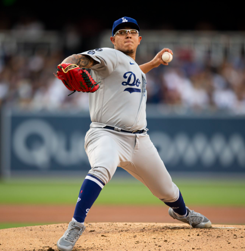 Mexican professional baseball player, Julio Urias