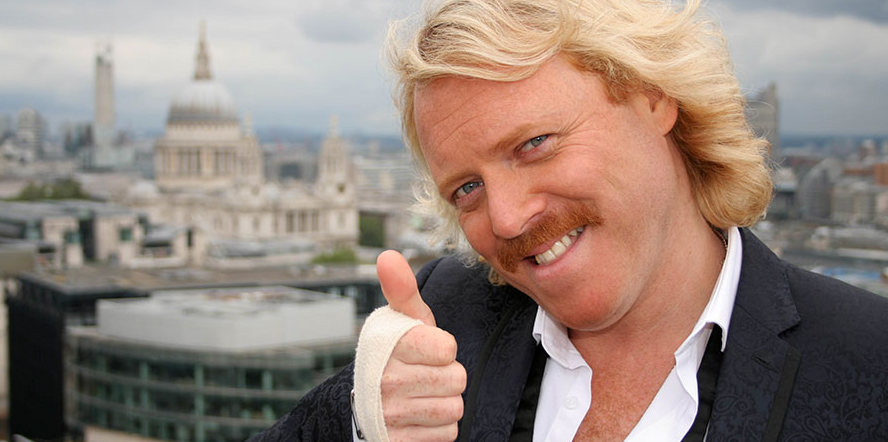 British stand-up comedian, Leigh Francis
