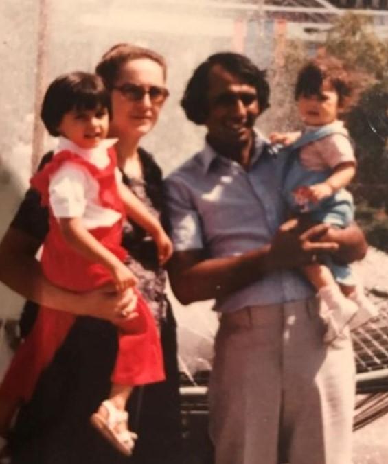 Nargis Fakhri family
