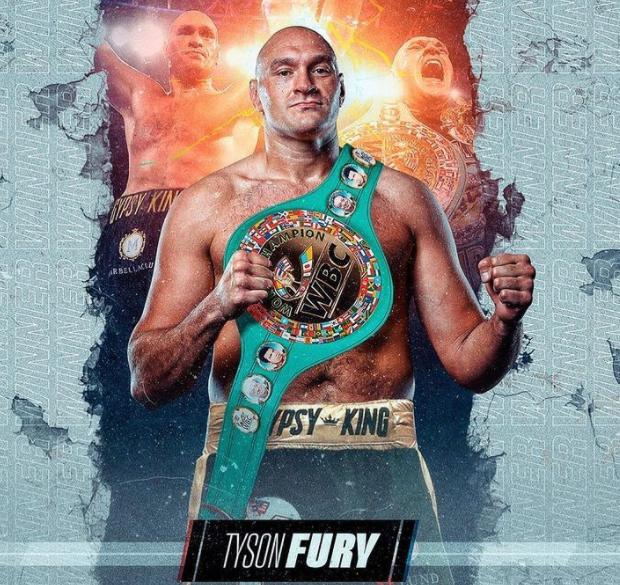 British Professional Boxer, Tyson Fury