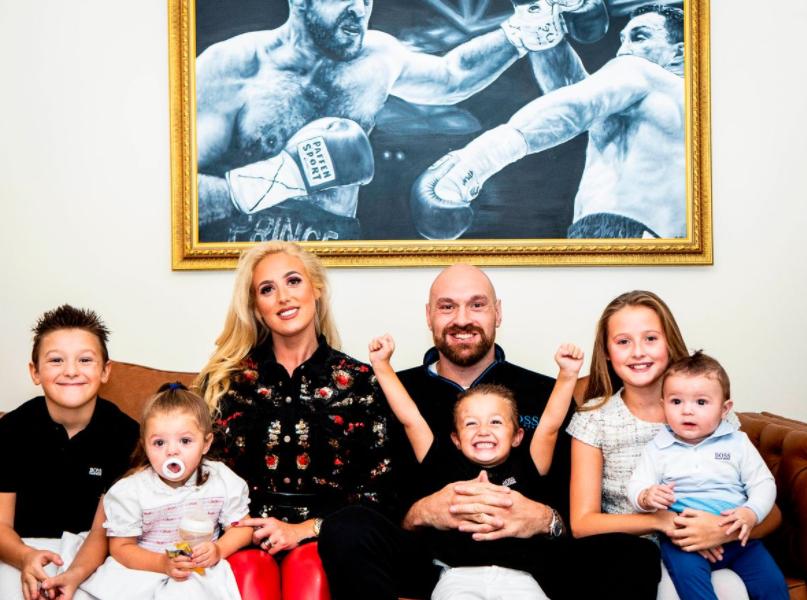 Tyson Fury Family