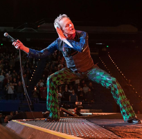American Musician and Singer, David Lee Roth