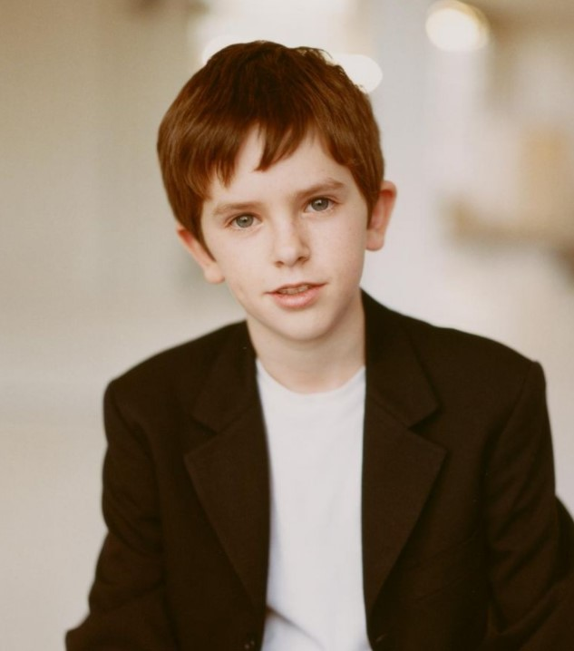 Freddie Highmore young